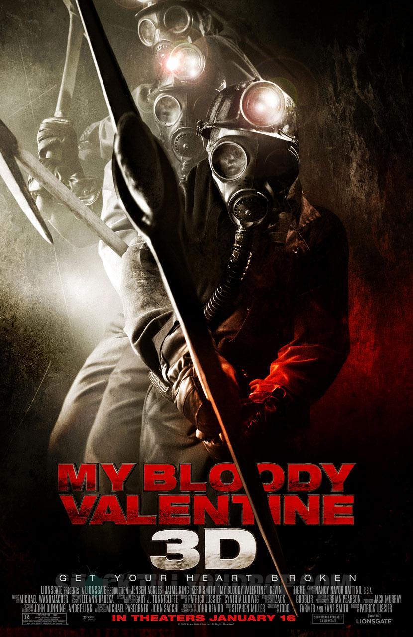 Мой кровавый Валентин 3D, постер № 3