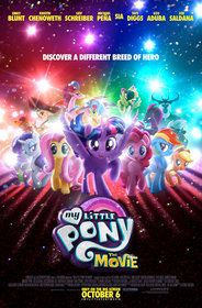 Постеры фильма «My Little Pony в кино»