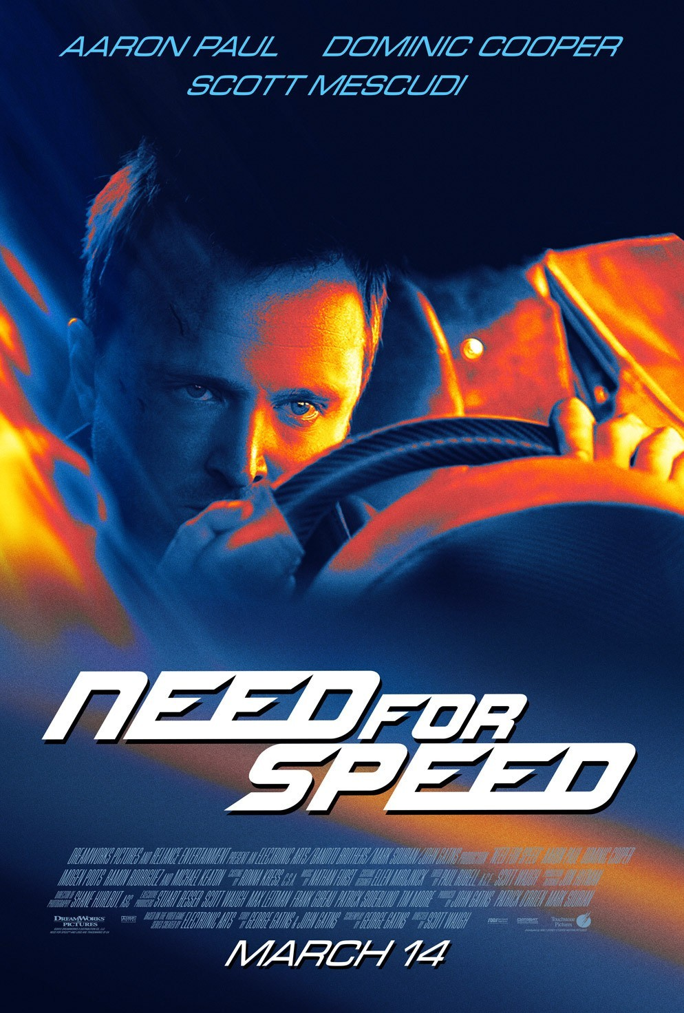 Need for Speed: Жажда скорости, постер № 4