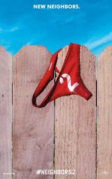 Постеры фильма «Соседи. На тропе войны 2»