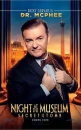 Постеры фильма «Ночь в музее: Секрет гробницы»