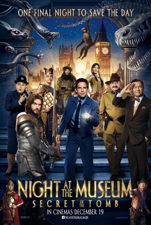 ночь в музее секрет гробницы