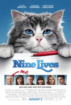 Постеры фильма «Девять жизней»