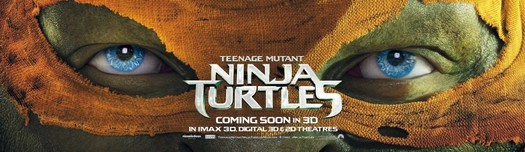 Постеры фильма «Черепашки-ниндзя»