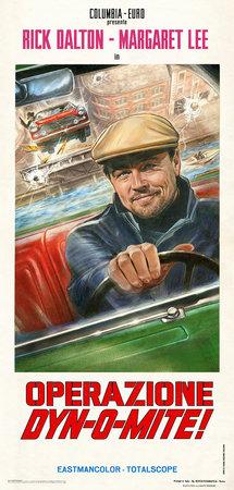 Постеры фильма «Однажды... в Голливуде»