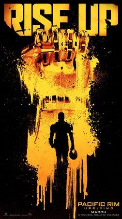 Постеры фильма «Тихоокеанский рубеж: Восстание»