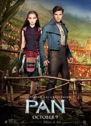 Постеры фильма «Пэн: Путешествие в Нетландию»