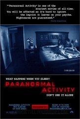 «Сверхъестественная активность» (Paranormal Activity)