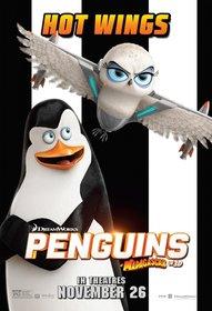 Постеры фильма «Пингвины Мадагаскара»