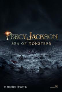 Постеры фильма «Перси Джексон и Море чудовищ»