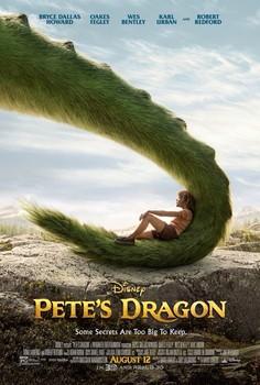 Постеры фильма «Пит и его дракон»