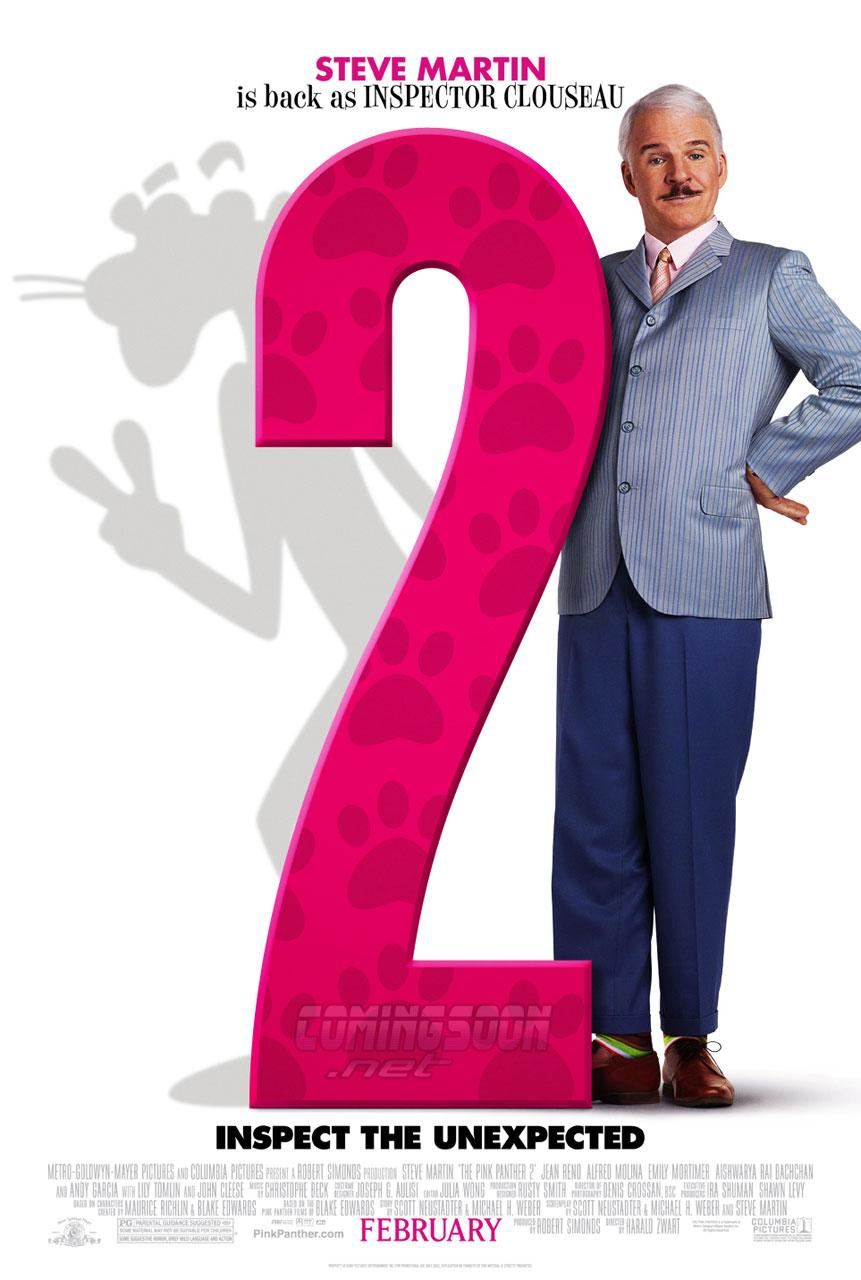 Розовая пантера — 2, постер № 2
