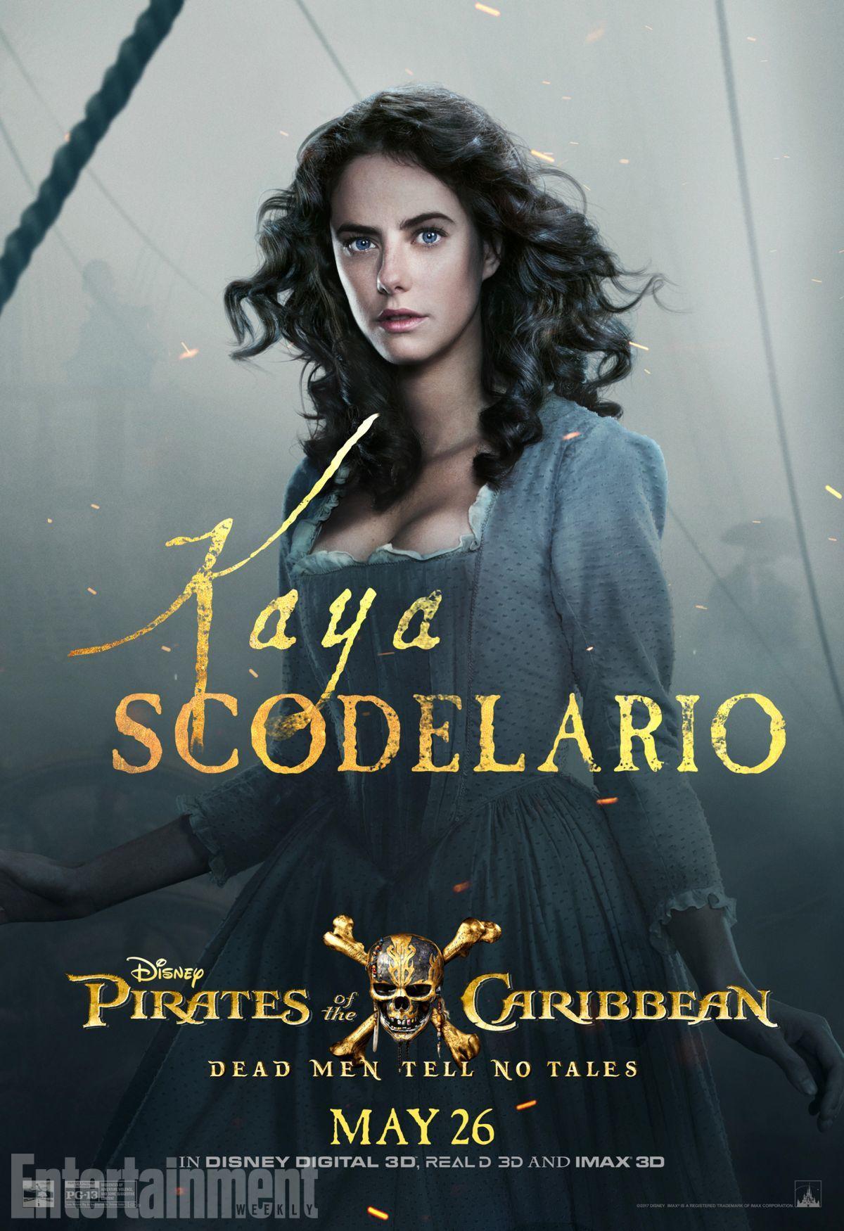 Пираты Карибского моря: Мертвецы не рассказывают сказки, постер № 11