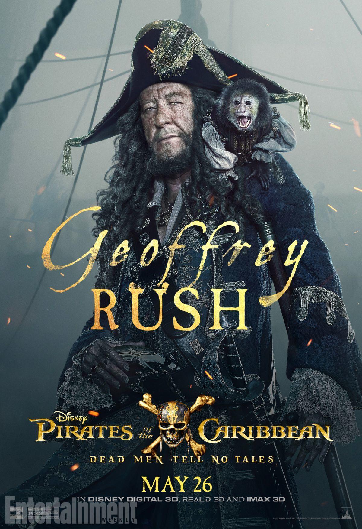 Пираты Карибского моря: Мертвецы не рассказывают сказки,  № 13