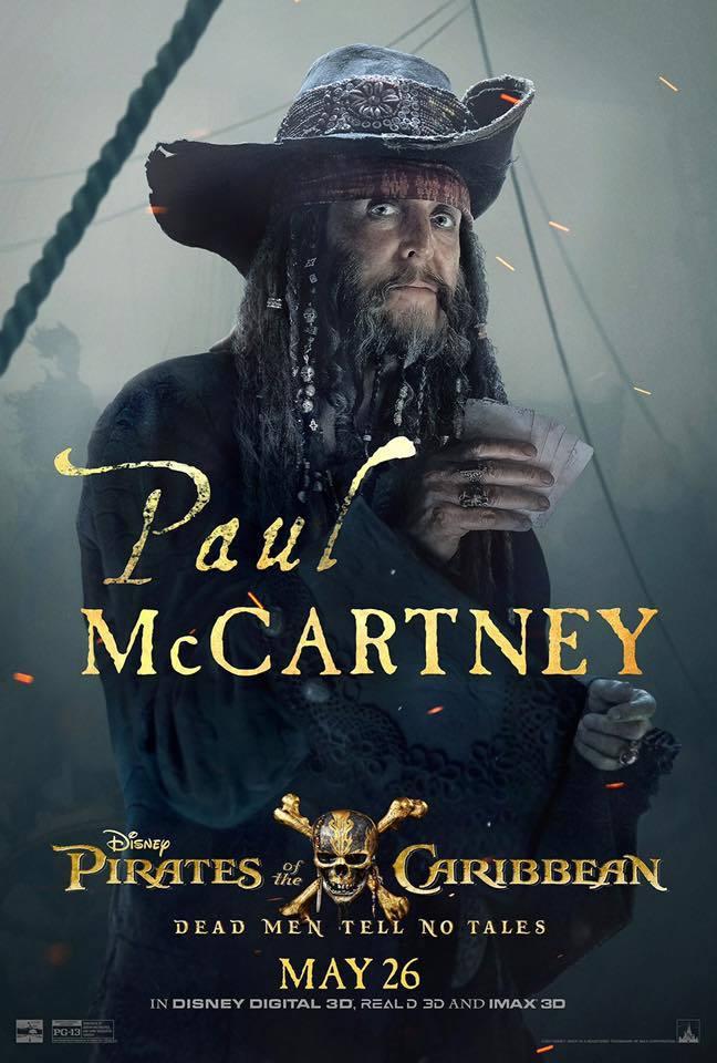 Пираты Карибского моря: Мертвецы не рассказывают сказки, постер № 14