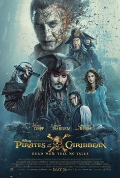 Постеры фильма «Пираты Карибского моря: Мертвецы не рассказывают сказки»