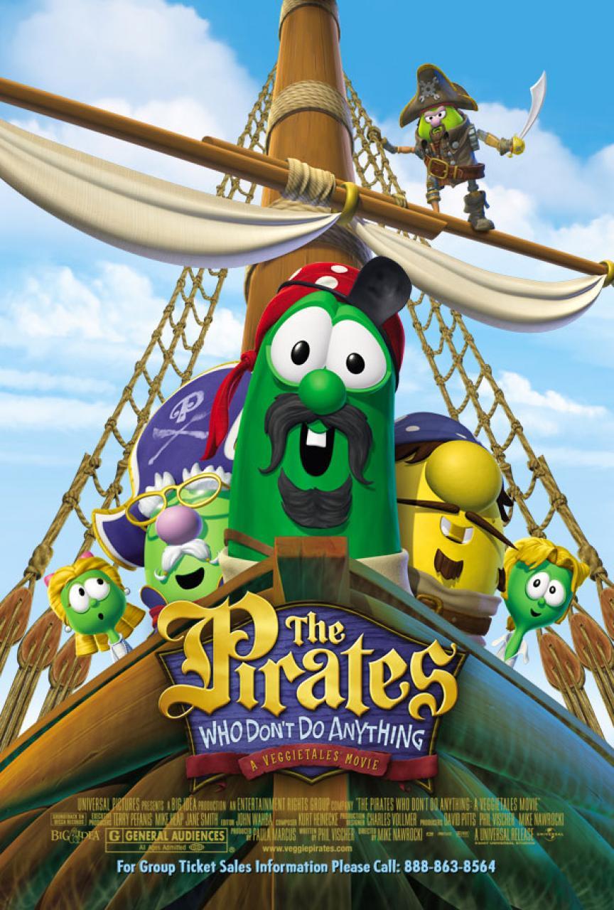 Пираты, которые ничего не делают, постер № 1
