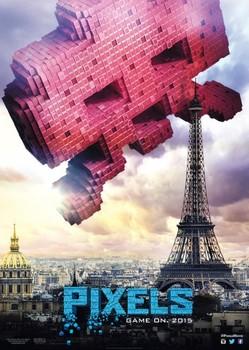 Постеры фильма «Пиксели»