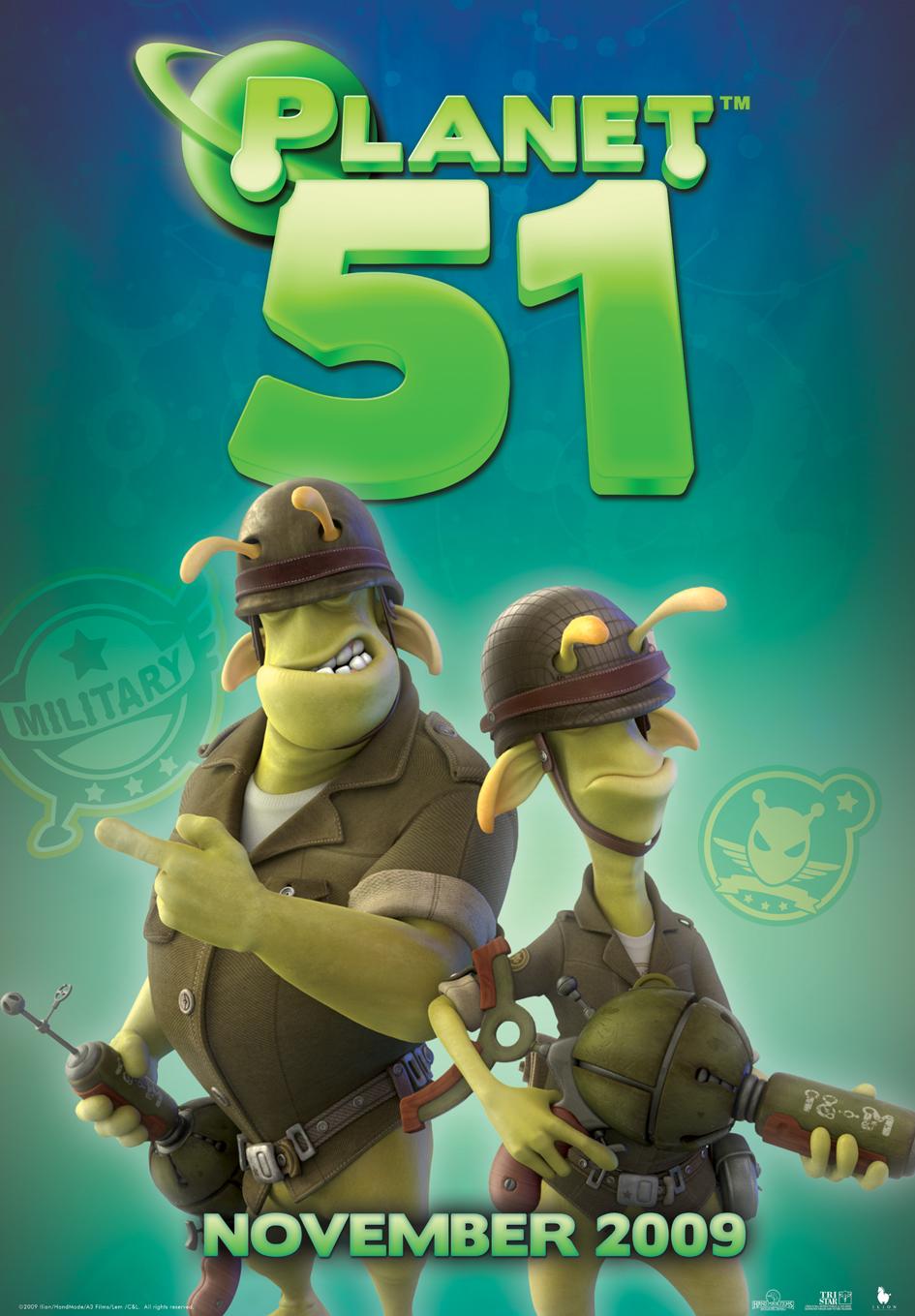 «Планета 51» — 2009