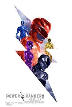 Постеры фильма «Могучие рейнджеры»