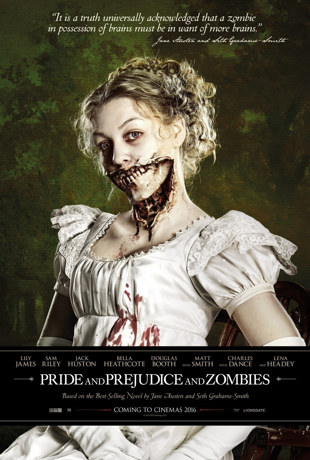 an analysis of pride and prejudice and zombies by seth grahame smith Pride and prejudice and zombies new hardcover book club edition of the 2009 quirk books trade publication note: this is a hardcover new, but with minor shelfwear.