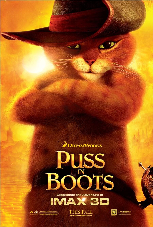 Кот в сапогах, постер № 8