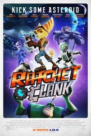 Постеры фильма «Рэтчет и Кланк: Галактические рейнджеры»