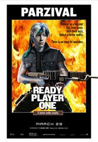 Постеры фильма «Первому игроку приготовиться»
