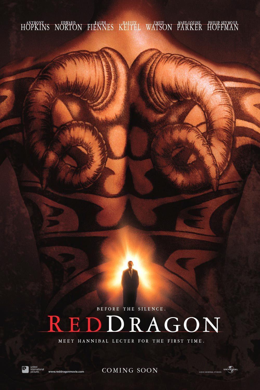 Красный дракон, постер № 1