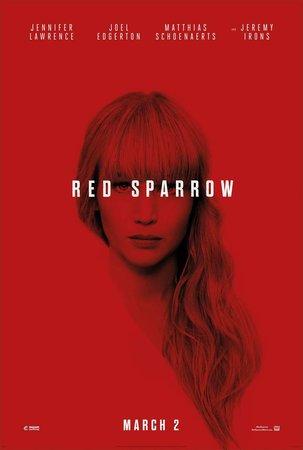 Постеры фильма «Красный воробей»
