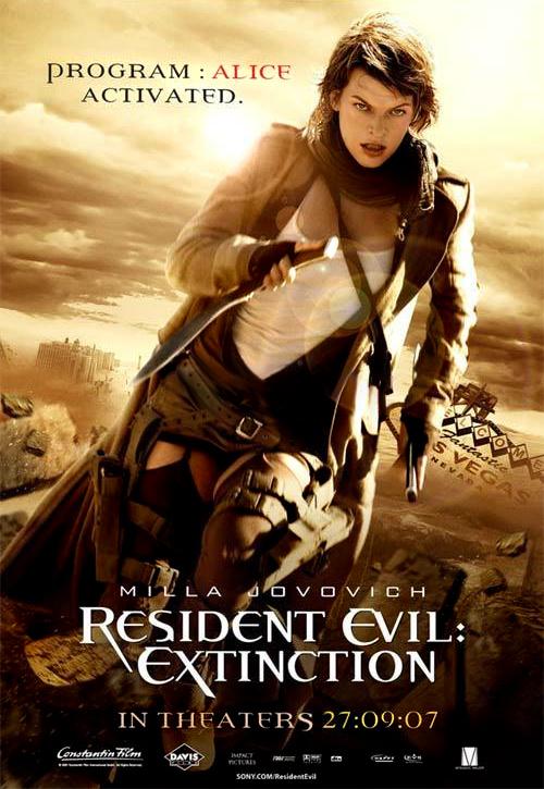 Обитель зла 3, постер № 9