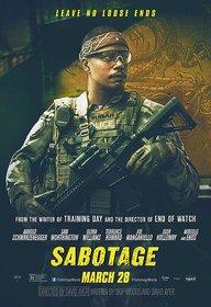Постеры фильма «Саботаж»
