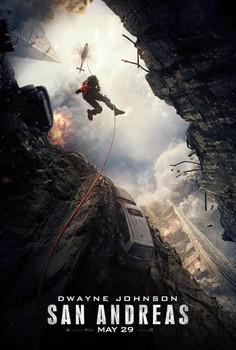 Постеры фильма «Разлом Сан-Андреас»