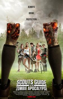 Постеры фильма «Скауты против зомби»