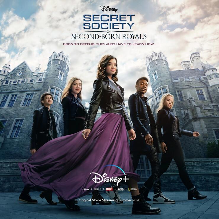 Постеры фильма «Тайное общество второрожденных членов королевской семьи»
