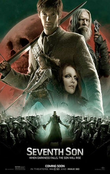 Постеры фильма «Седьмой сын»
