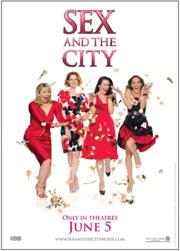 Постеры к фильму секс в большом городе