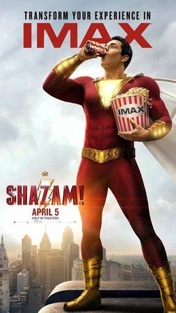 Постеры фильма «Шазам!»