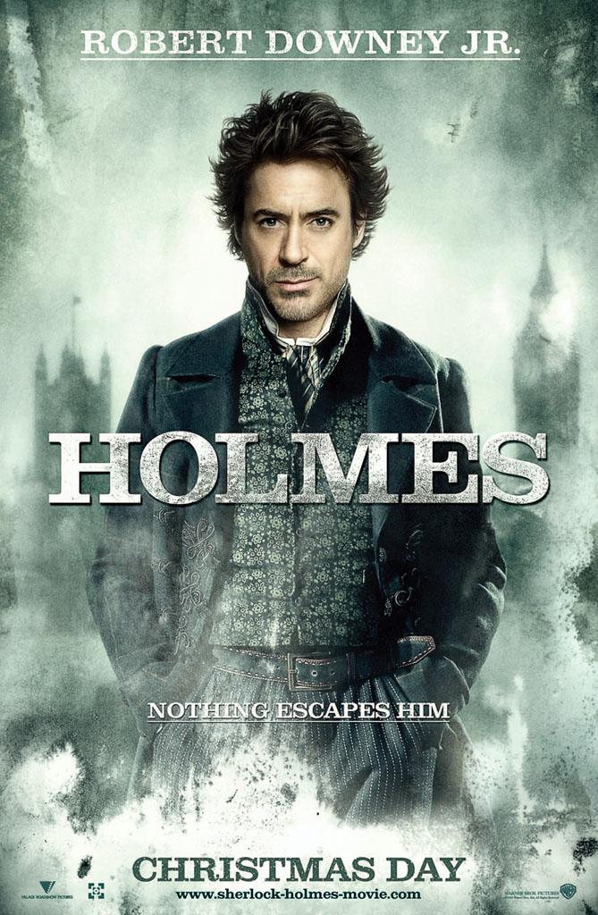 Шерлок Холмс, постер № 2