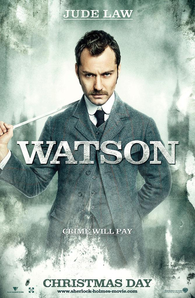 Шерлок Холмс, постер № 3