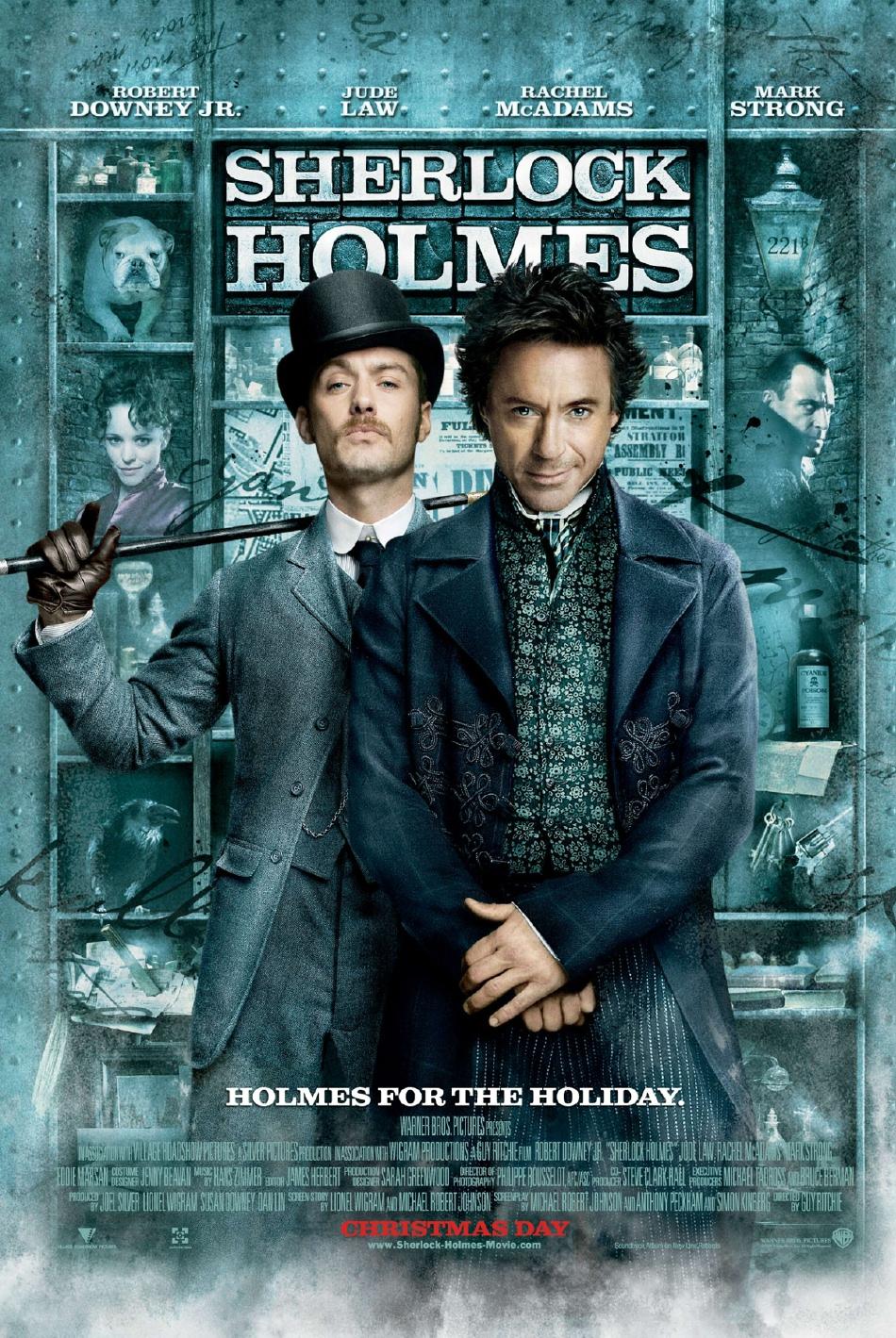 Шерлок Холмс, постер № 7