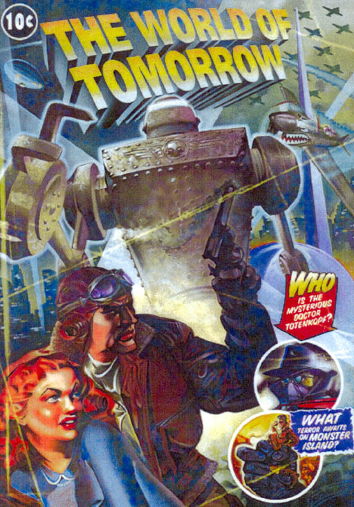 Небесный Капитан и Мир будущего, постер № 1