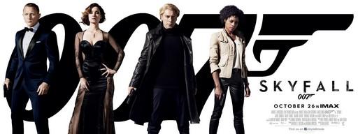 """Постеры фильма «007: Координаты """"Скайфолл""""»"""