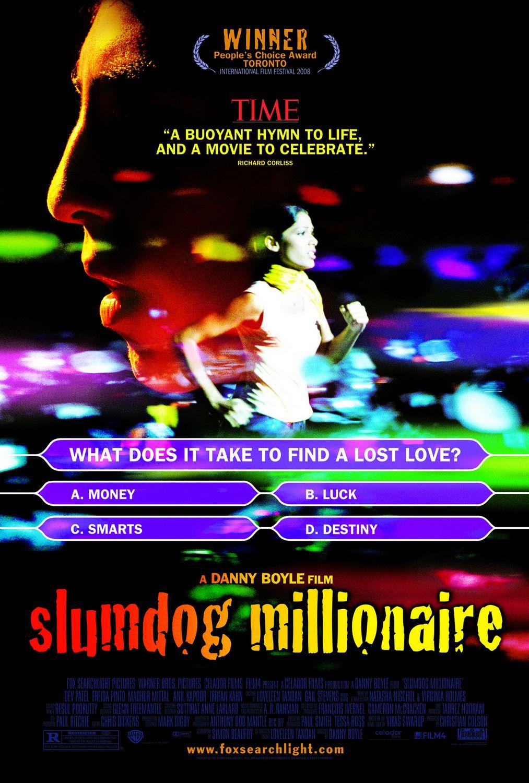 Миллионер из трущоб, постер № 2