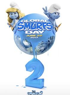 Постеры фильма «Смурфики-2»
