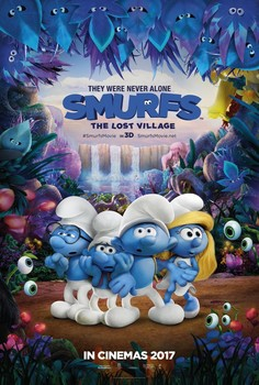 Постеры фильма «Смурфики: Затерянная деревня»