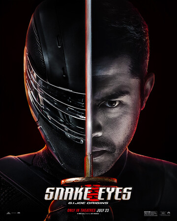 Постеры фильма «G. I. Joe. Бросок кобры: Снейк Айз»