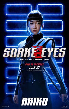 Постеры фильма «G.I. Joe: Бросок кобры. Снейк Айз»