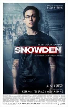 Постеры фильма «Сноуден»