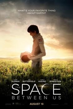 Постеры фильма «Космос между нами»